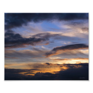 Oregon Sunset Photograph