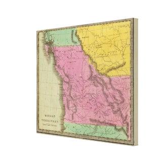 Oregon Territory Canvas Print
