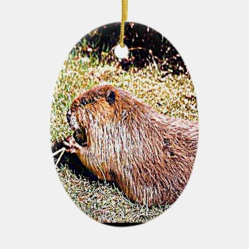Oregon The Beaver State Christmas Tree Ornament