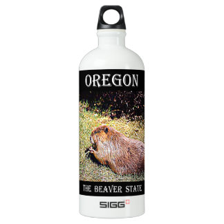 Oregon The Beaver State Water Bottle