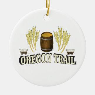 oregon trail blessing christmas ornament