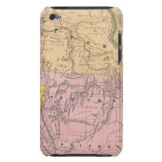 Oregon, Upper California and New Mexico iPod Touch Case-Mate Case