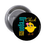 Oregon USA Chick Pin
