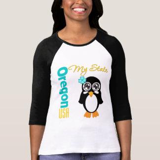 Oregon USA Penguin T Shirt