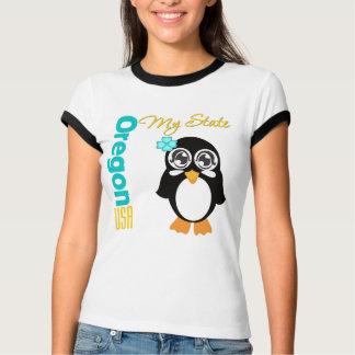 Oregon USA Penguin T Shirts