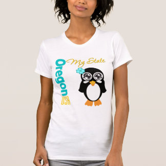 Oregon USA Penguin T-shirts
