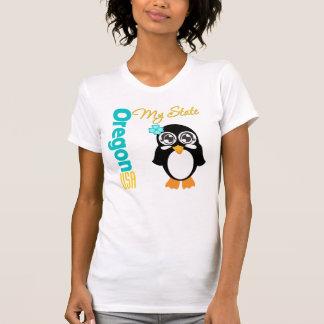 Oregon USA Penguin Tshirts