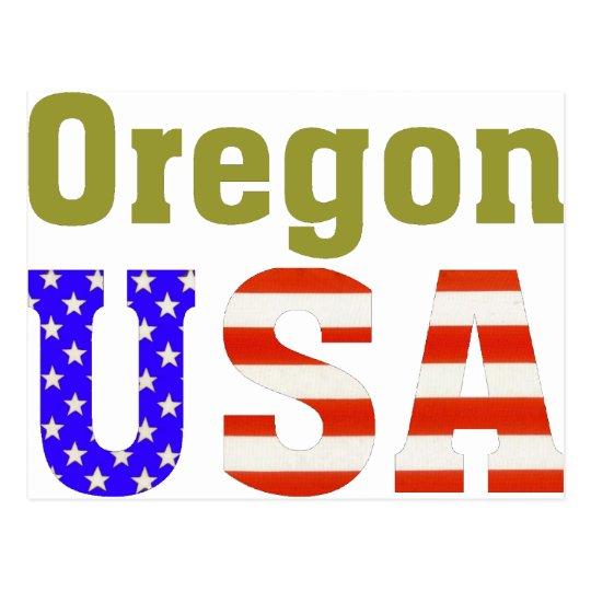 Oregon USA! Postcard