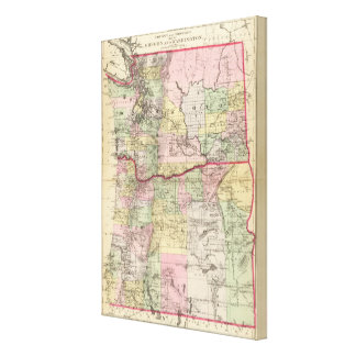 Oregon, Washington Canvas Print