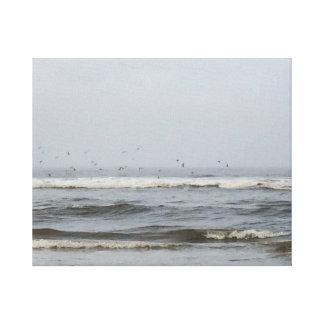 Oregon Waves, Canvas