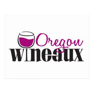 Oregon Wine Girl Postcard