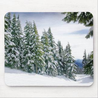 Oregon Winter Mouse Pad