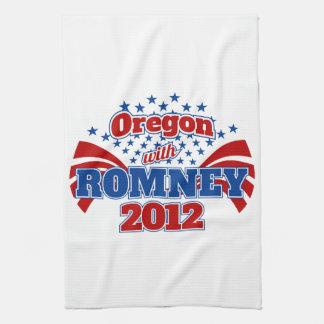 Oregon with Romney 2012 Tea Towel