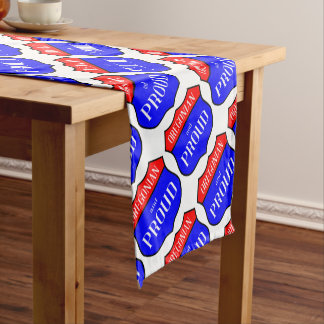 Oregonian And Proud Short Table Runner