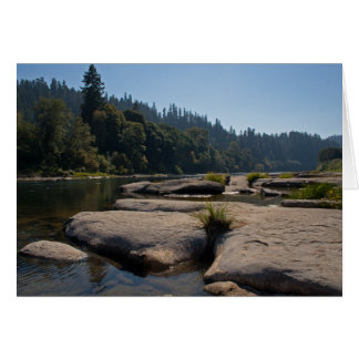 Oregon's Beautiful Umpqua River Greeting Card