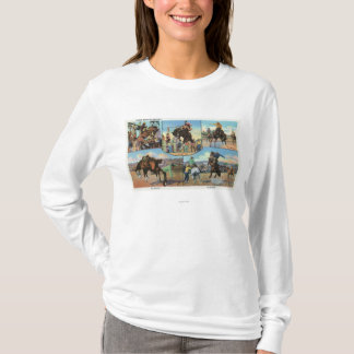 OregonScenic Views of Rodeo Bronco Busters T-Shirt