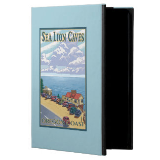 OregonSea Lion Caves Vintage Travel Poster iPad Air Cover
