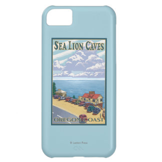 OregonSea Lion Caves Vintage Travel Poster iPhone 5C Case
