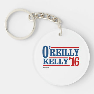 O'Reilly Kelly 2016 Double-Sided Round Acrylic Key Ring