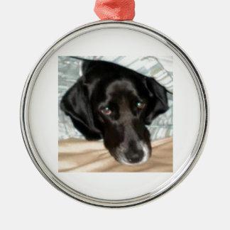 Oreo the English Springer Spaniel Dog Christmas Ornament