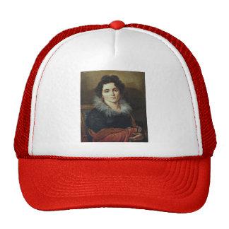 Orest Kiprensky- Portrait of Darya Chvostova Mesh Hats