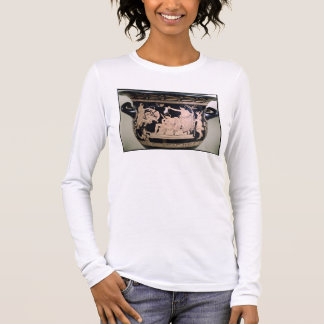 Orestes as a Suppliant at the Shrine of Apollo in Long Sleeve T-Shirt