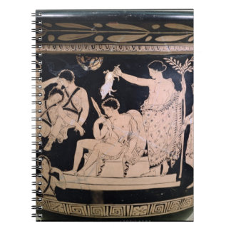Orestes as a Suppliant at the Shrine of Apollo in Spiral Notebook