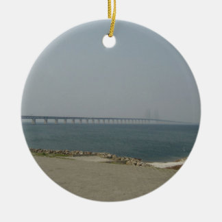 Oresund Bridge Christmas Ornament