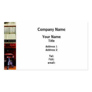 Organ and Swivel Stool Pack Of Standard Business Cards