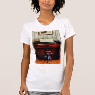 Organ and Swivel Stool Tee Shirts