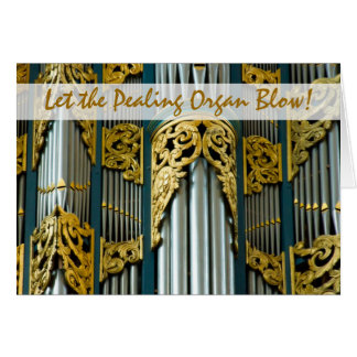 Organ, Breda, Netherlands Christmas card