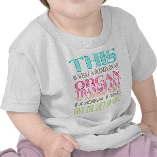 Organ donation awareness tees