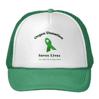 Organ Donation Saves Trucker Hats