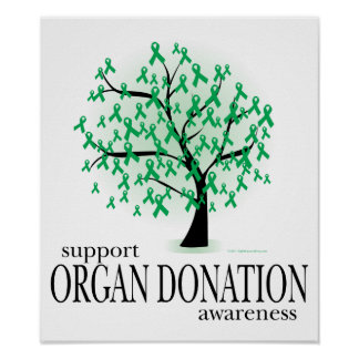 Organ Donation Tree Print