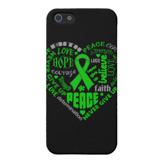 Organ Donor Awareness Heart Words iPhone 5 Covers