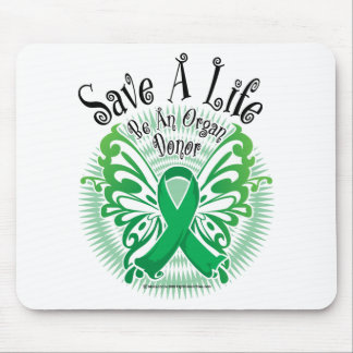 Organ Donor Butterfly 3 Mouse Pad