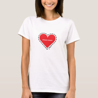 Organ Donor Women's Fitted T-shirt