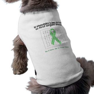 Organ Donors Word Search Doggie T Shirt