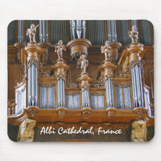 Organ in Albi Cathedral, France Mouse Mat