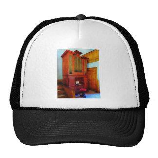 Organ in Church Mesh Hat