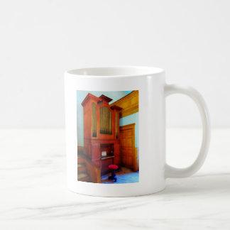 Organ in Church Coffee Mugs