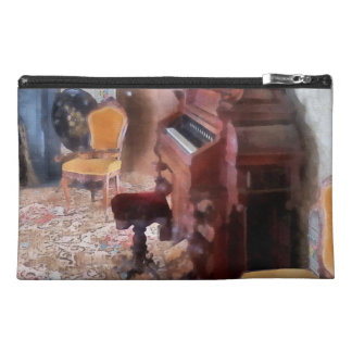 Organ in Victorian Parlor Travel Accessory Bags