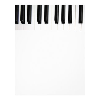 Organ Keyboard 21.5 Cm X 28 Cm Flyer