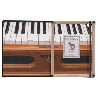 Organ keyboard case for iPad