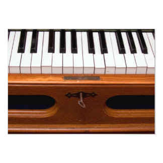 Organ keyboard personalized announcement