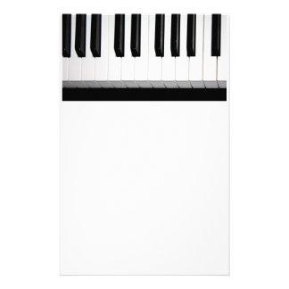 Organ Keyboard Stationery Design