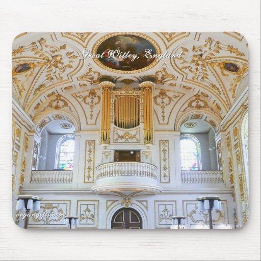Organ mousepad - Great Witley