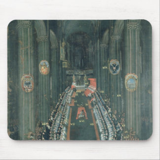 Organ panel  ,The Sitting of the Council Mouse Pad