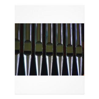 Organ Pipes Detail 21.5 Cm X 28 Cm Flyer