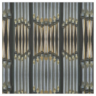 Organ pipes fabric